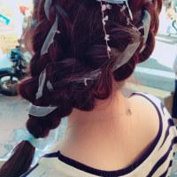 川越 美容室 kitaro  川越祭り中のヘアアレンジ