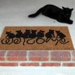 猫ちゃんの、玄関マットの使い方