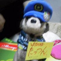 札幌まちなか探検隊  シロクマ「だいふく隊長」入浴、衣替え終了! 春の装い( ゚ω^ )b