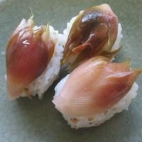 ミョウガといえばお寿司
