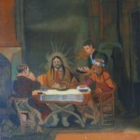 模写「トレド風景」「エマオの晩餐」「アルノルフィーニ夫妻の肖像」