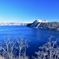 雪化粧・・摩周ブルー。