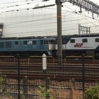 稲沢駅の電気機関車