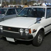 Toyota Corolla 1979-��ľ����Ĵ�Υ����������Ѥ���4���ܤΥȥ西 ���?��