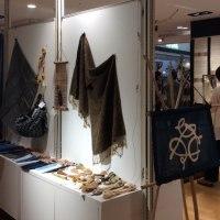 自然素材の布 企画展①