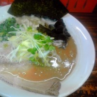 麺屋 堂々/豚そば 魚介豚骨味 (780円)