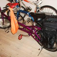 二人乗り自転車の旅・・・。