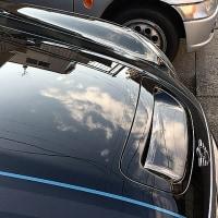 バックモニターの調整と洗車