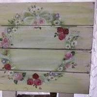 花のボード バラ編