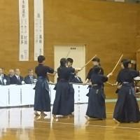 第53回山口県剣道祭、居合道大会、杖道演武大会