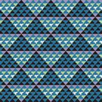 「パターン」三角鳥(テキスタイル)