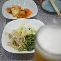 韓国料理「お母さん」でチャプチェ