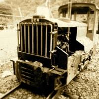 ノスタルジックな森林鉄道。