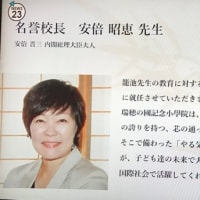 現世考: 安倍晋三記念小学校