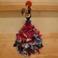 幸運を呼ぶガロのクリスマスツリー(黒×赤×青)
