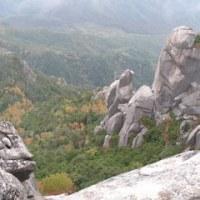 瑞牆山(みずがきやま)に友人が登った。
