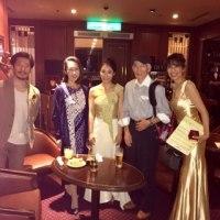 シャンソン歌手リリ・レイ  芝パークホテル でのフランス語シャンソンのコンサート