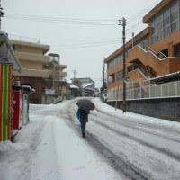 松江市内の雪は?