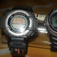 高度計付き腕時計
