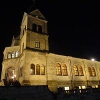 夜の松が峰教会も綺麗です!