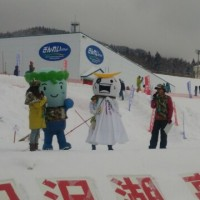 田沢湖高原雪まつり開催中♪