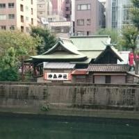 万世橋のすぐ脇にある神田ふれあい橋