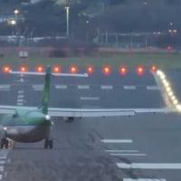 着陸やり直し、成田空港でタッチアンドゴー寸前