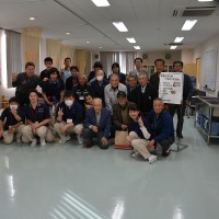 信州介護福祉専門学校の生徒と先生とシルバー会員の交流会