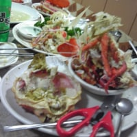 釜山のチャガルチ市場で海老蟹三昧!