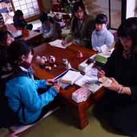 紫波町古舘地区の子どもを見守るまちづくりの「環境まちひと歩き」隊が来ました(*˙˘˙*)ஐ