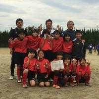 知多なでしこカップU12   準優勝  (ミニミルU10が参加)