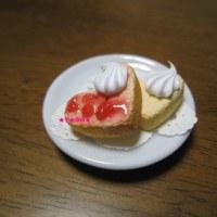 ハート型の簡単ケーキ