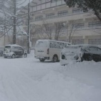 積雪30㎝!