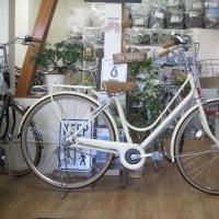 ご注文の自転車 カジュナスイートライン CS73B エッグシェルベージュ入荷しました!