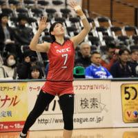 NECレッドロケッツ 島村 春世 選手
