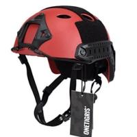 赤いヘルメット見たの?