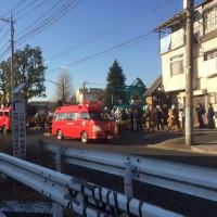 三鷹市にて「沿線火災」