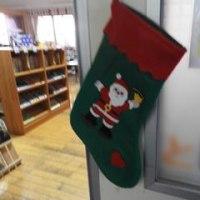 しおかぜ図書館 クリスマスデコレーション