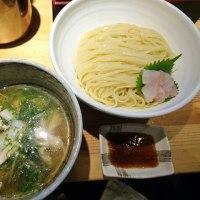 ラーメン巌哲@早稲田 「創作塩つけ麺(赤羽太)」