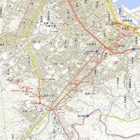 小樽勝内川遊歩道のGPSトラック