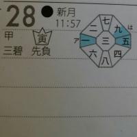 三碧木星中宮の日