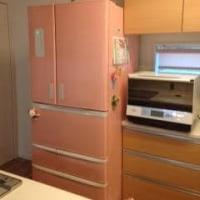 冷蔵庫がピンクだったら可愛いですね