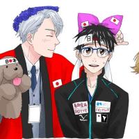 ユーリ!!! on ICE【8】ユーリ国別