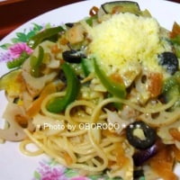 大根の味噌漬けと蓮根のスパゲティ