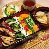 野菜の彩りお寿司