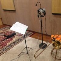 先日のレコーディング