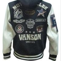 vanson バンソン  ボンディング フード スタジャン NVSZ-613