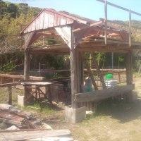 滞在型家庭菜園:バーベーキュー小屋を改装