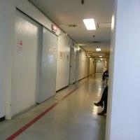長い長い廊下