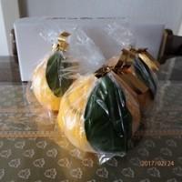 冬の冷菓 ゼリー 三宝柑福居袋